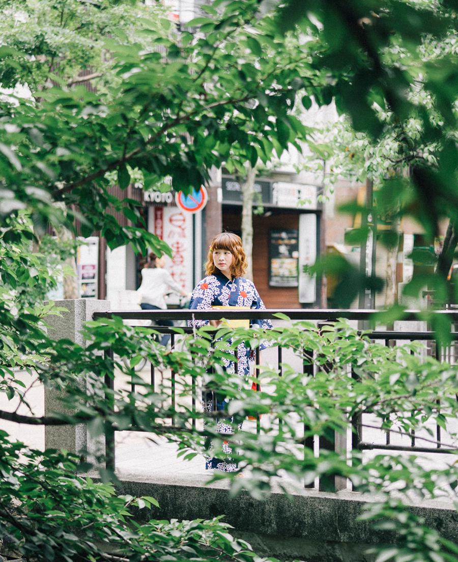 浴衣で京都を散歩してきました!